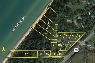 Berrien County Residential Lots & Land For Sale: 3960 N M-63