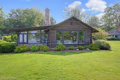 Muskegon County, Oceana County, Ottawa County Single Family Home For Sale: 3119 Scenic Drive