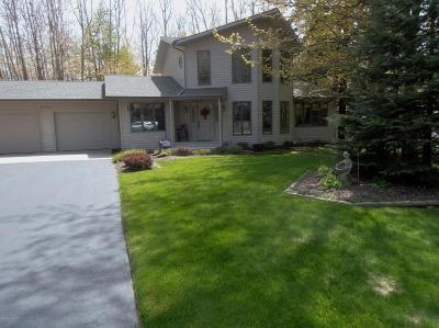 Manistee County Single Family Home For Sale: 4455 W Fox Farm Road