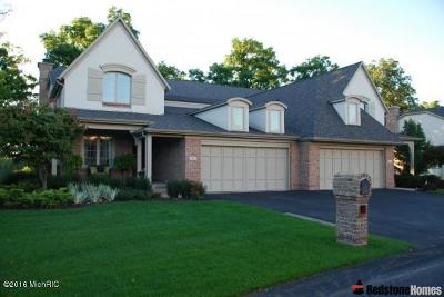 Grand Rapids Condo/Townhouse For Sale: 58 Peartree Lane NE #16