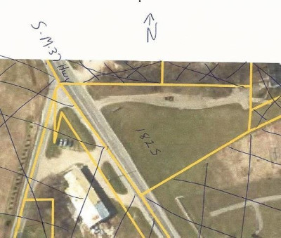 Residential Lots & Land For Sale: 1825 S M-37 Highway