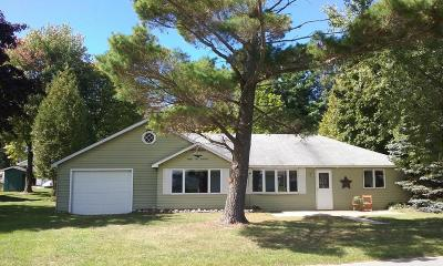 Manistee County Single Family Home For Sale: 8600 Bayview Road