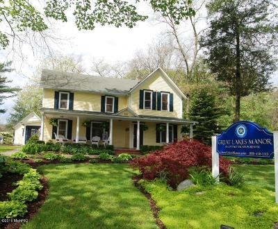 Saugatuck, Douglas Single Family Home For Sale: 300 Ferry Street