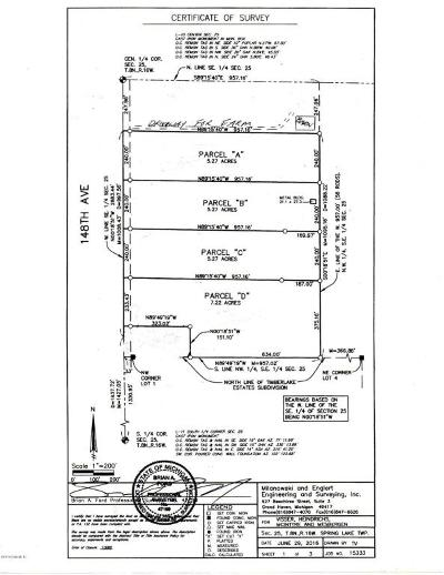 Grand Haven, Spring Lake, Ferrysburg Residential Lots & Land For Sale: 15450 148th