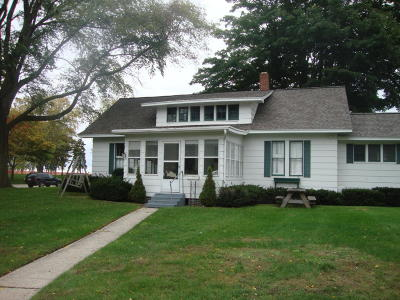 Ludington Single Family Home For Sale: 402 N Lakeshore Drive
