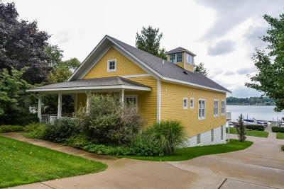 Saugatuck, Douglas Condo/Townhouse For Sale: 419 Lake Street
