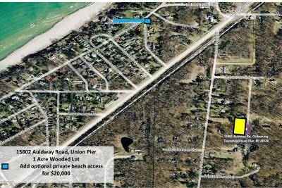 Union Pier Residential Lots & Land For Sale: 15802 Auldway Road