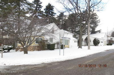Pentwater Single Family Home For Sale: 86 6th Street
