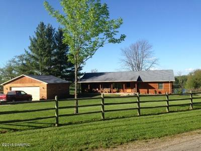 Mecosta County Single Family Home For Sale: 15410 15 Mile Road