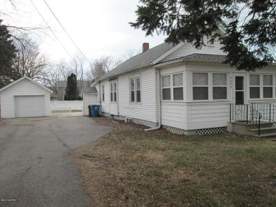 Bridgman MI Single Family Home Sold: $125,000