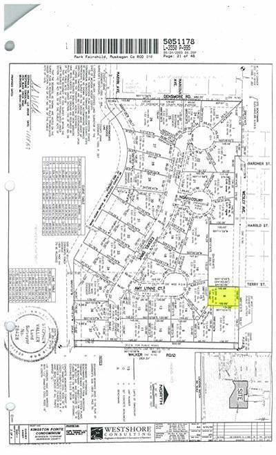 Muskegon Residential Lots & Land For Sale: Wesley Avenue