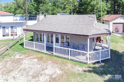 Mears Single Family Home For Sale: 1750 N Shore Drive