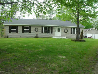 Osceola County Single Family Home For Sale: 12134 4 Mile Road