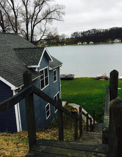St. Joseph County Single Family Home For Sale: 10200 Sycamore Beach Drive