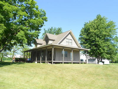 Scottville MI Single Family Home For Sale: $309,900