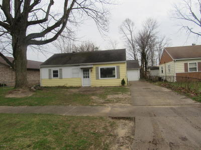 Niles Single Family Home For Sale: 1701 Howard Street
