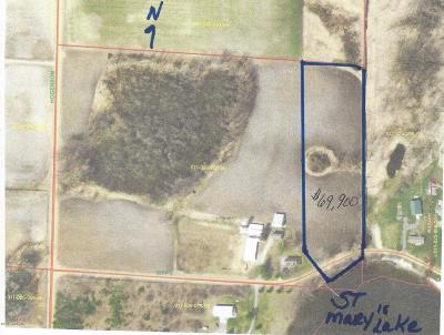 Scottville Residential Lots & Land For Sale: W Sippy Road
