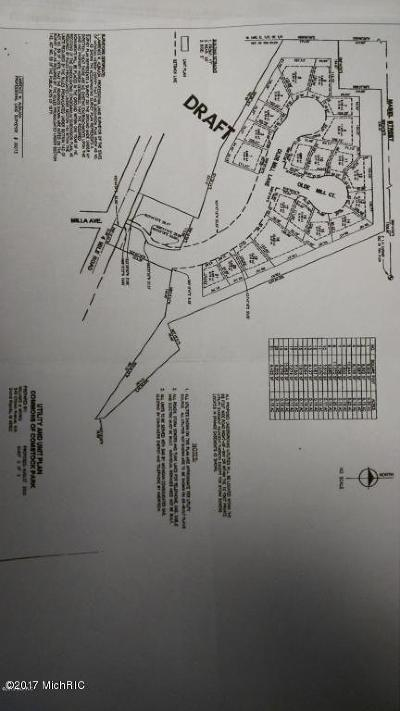 Comstock Park Residential Lots & Land For Sale: 103 4 Mile Rd NW