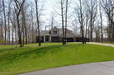 Branch County, Hillsdale County Single Family Home For Sale: 632 Woodchuck Point