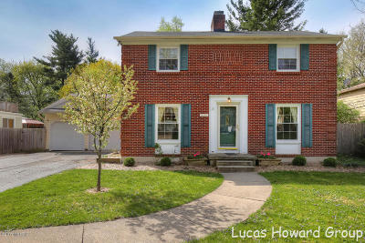 East Grand Rapids Single Family Home For Sale: 2454 Elmwood Drive SE
