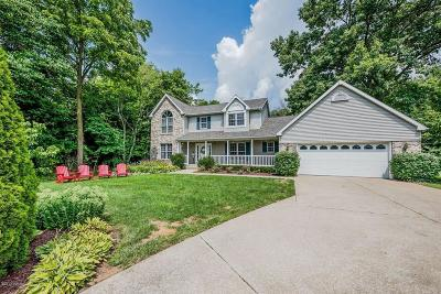 Berrien Springs Single Family Home For Sale: 4267 Lake Chapin Blf