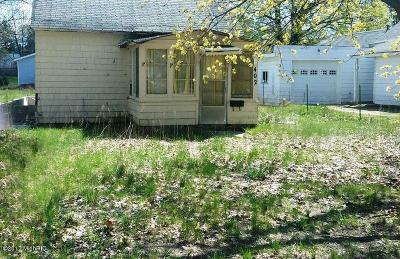 Shelby MI Single Family Home For Sale: $14,900