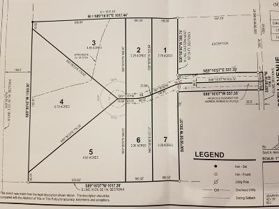 Zeeland Residential Lots & Land For Sale: Lot 4-050 88th Avenue