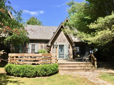 Pentwater Single Family Home For Sale: 6215 N Ridge Road