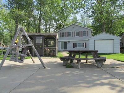 Gobles Single Family Home For Sale: 138 E Peterson Drive