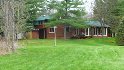 Ogemaw County Single Family Home For Sale: 810 E E Gallagher Rd