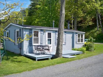 Ludington Single Family Home For Sale: 4525 N Lakeshore Drive #Unit #1