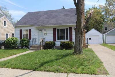 Single Family Home For Sale: 1446 Edward Street SE