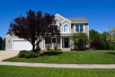 Comstock Park Single Family Home For Sale: 824 Scott View Drive NE