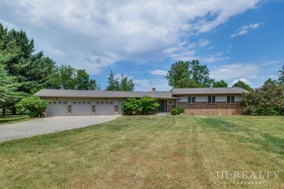 Middleville Single Family Home For Sale: 8949 River Ridge Drive SE
