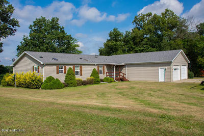 Eau Claire Single Family Home For Sale: 7224 Brush Lake Road