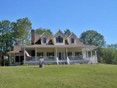Manistee County Single Family Home For Sale: 22296 Benton Road