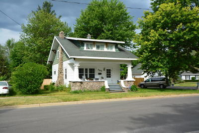 Single Family Home For Sale: 395 Ottawa Street