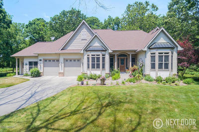Saugatuck Single Family Home For Sale: 6095 Old Allegan Road
