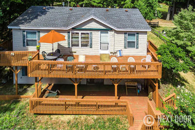 Pentwater Single Family Home For Sale: 1170 Orange Street