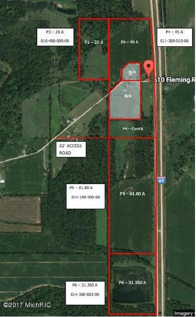 Branch County, Hillsdale County Residential Lots & Land For Sale: 510 Fleming Road