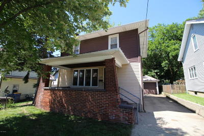 Single Family Home For Sale: 1109 Hall Street SE