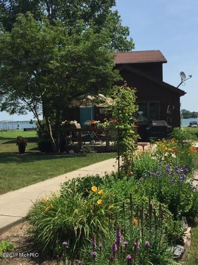 Vicksburg Single Family Home For Sale: 11987 W Indian Lake Drive