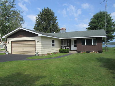 Manistee County Single Family Home For Sale: 5224 Crescent Beach Road