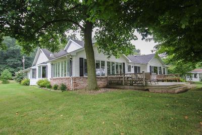 St. Joseph County Single Family Home For Sale: 12719 Sleepy Hollow Road