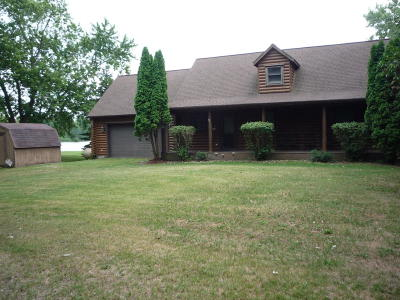 Bronson Single Family Home For Sale: 861 West Shore Road