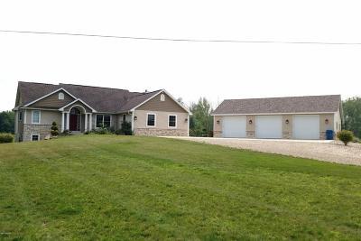 Schoolcraft Single Family Home For Sale: 7531 W W Avenue