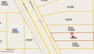 Holland, West Olive Residential Lots & Land For Sale: Us-31 Lot 3