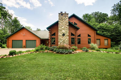 St. Joseph County Single Family Home For Sale: 65039 Rocky Lane