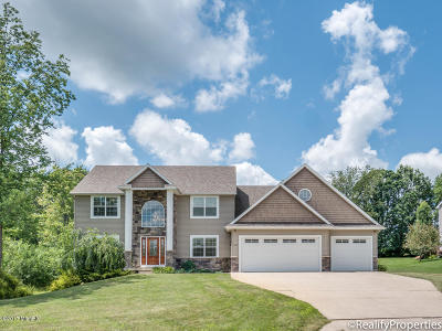 Caledonia Single Family Home For Sale: 8445 Curley Trails