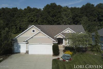 Hudsonville Single Family Home For Sale: 7473 Valhalla